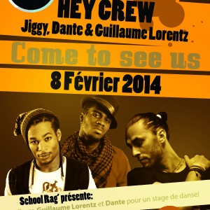 flyer jiggy guillaume et dante