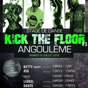 Kick the floor 3 - 16 juillet 2016